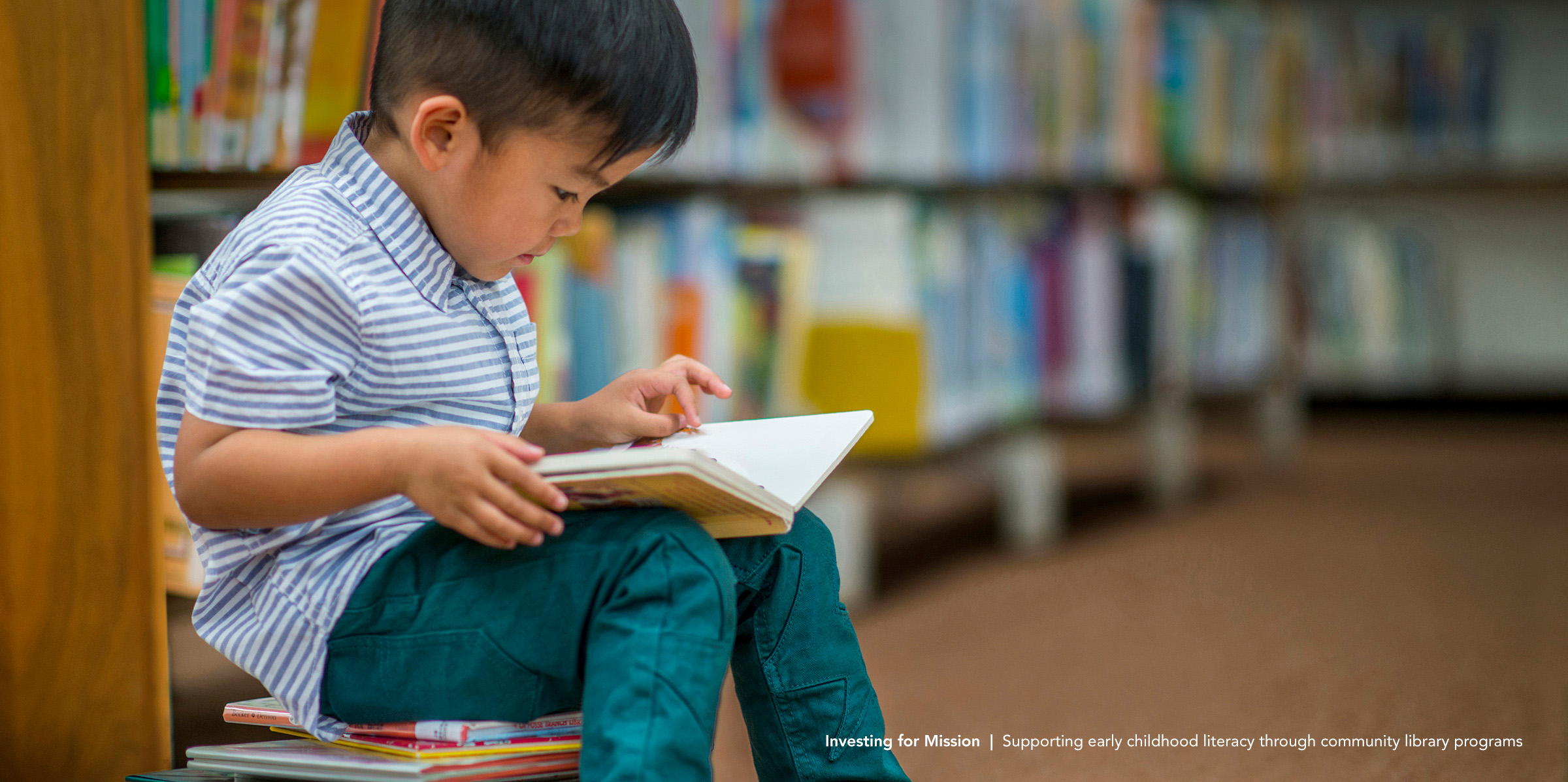 Investing for Mission | Supporting early childhood literacy through community library programs