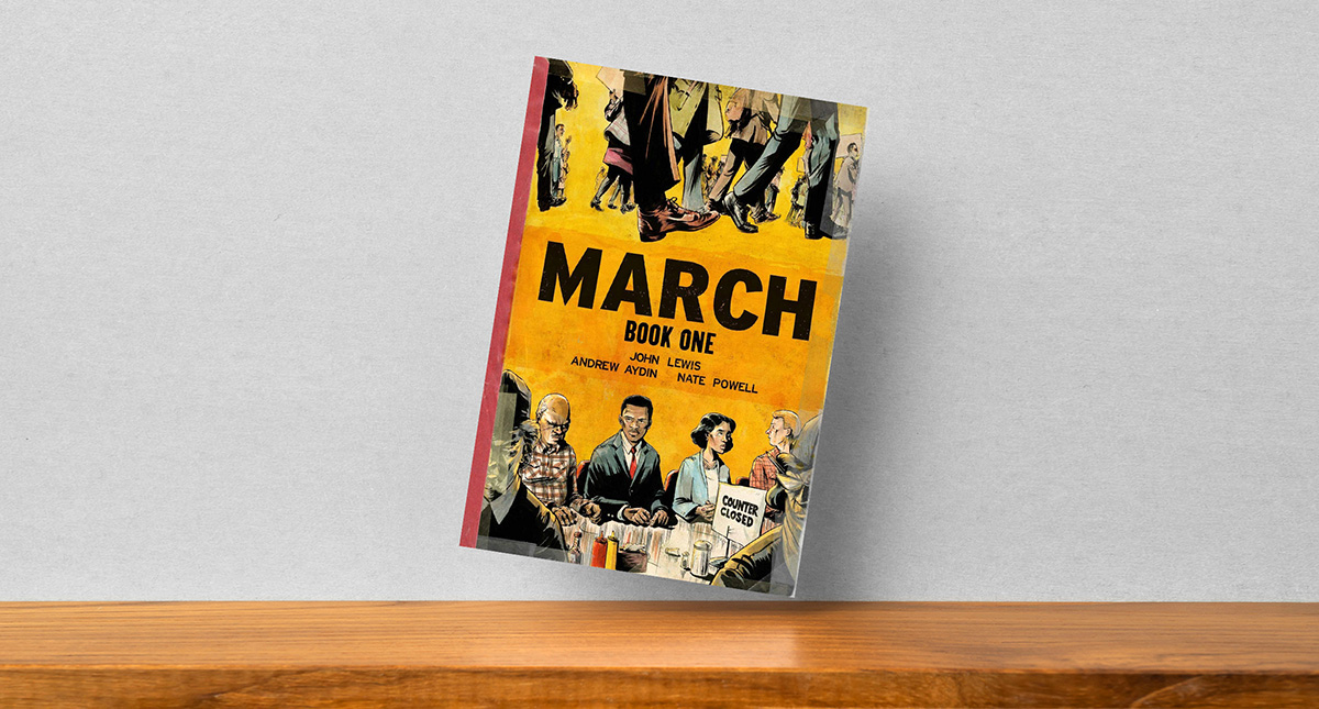 MARCH By John Lewis, Andrew Aydin, Nate Powell
